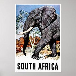 Südafrika-Reiseplakat Poster