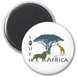 Südafrika Runder Magnet 5,7 Cm