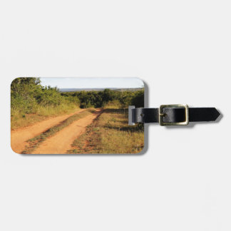 Südafrika-Schotterweg Gepäckanhänger