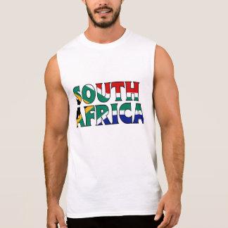 Südafrika-Shirt Ärmelloses Shirt