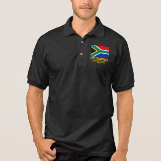 Südafrika-Stolz-Kleid Polo Shirt