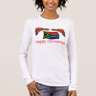 Südafrika-Weihnachten Langarm T-Shirt