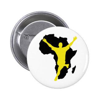 Südafrika-Weltmeisterschaftmeistersieger 2010 Anstecknadelbuttons