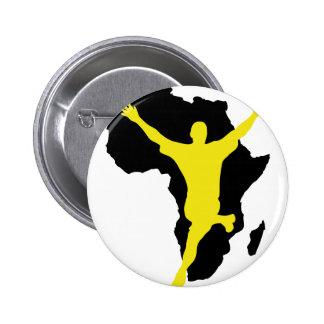 Südafrika-Weltmeisterschaftmeistersieger 2010 Button