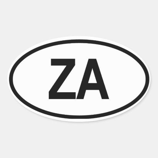 """Südafrika """"ZA """" Stickers"""
