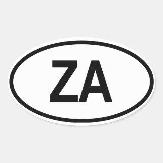 Südafrika ZA Stickers