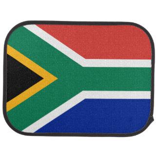 Südafrikanische Flagge der Südafrika-Auto-Matte Autofußmatte