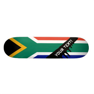 Südafrikanische Flagge Individuelle Skateboards