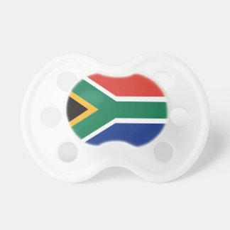 Südafrikanische Flagge Schnuller