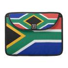 Südafrikanische Flaggen-Rickshaw-Klappen-Hülse Sleeve Für MacBook Pro