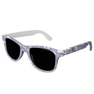 Südafrikanische Jacaranda-Blumen-Sonnenbrillen Brille