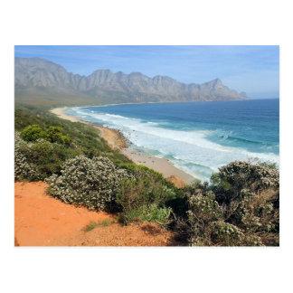 Südafrikanische Küste Postkarte