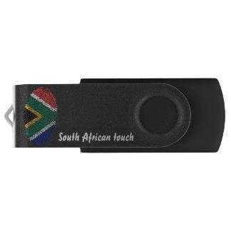 Südafrikanische Touchfingerabdruckflagge USB Stick