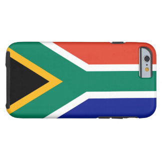Südafrikanischer Flagge iPhone 6 Fall Tough iPhone 6 Hülle
