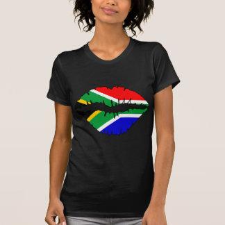 Südafrikanisches Kuss-Thema T-Shirt