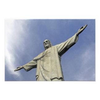 Südamerika, Brasilien, Rio de Janeiro. Christus 2 Foto Druck