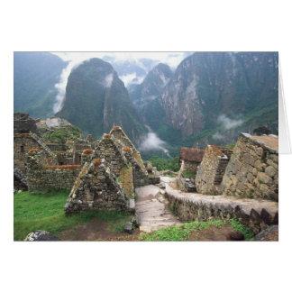 Südamerika, Peru, Machu Picchu Karte