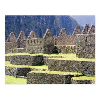 Südamerika - Peru. Steinmetzarbeit im verlorenen Postkarte