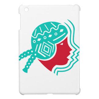 Südamerikanische Mädchen-Ikone iPad Mini Hülle