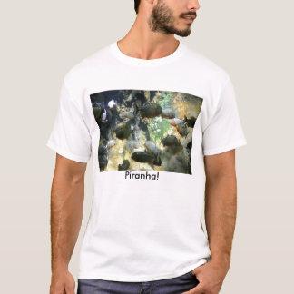 Südamerikanischer Piranha-Fisch-T - Shirt