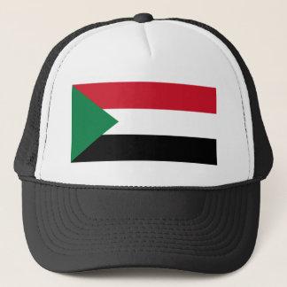 Sudan-Flagge Truckerkappe