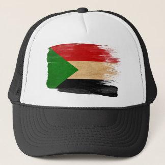 Sudan-Flaggen-Fernlastfahrer-Hut Truckerkappe