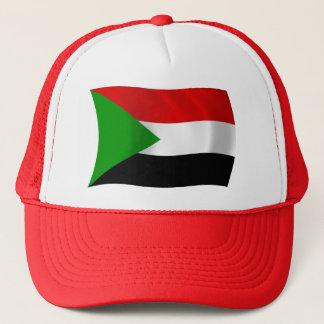 Sudan-Flaggen-Hut Truckerkappe