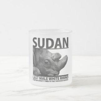 Sudan: Letztes männliches weißes Nashorn Mattglastasse