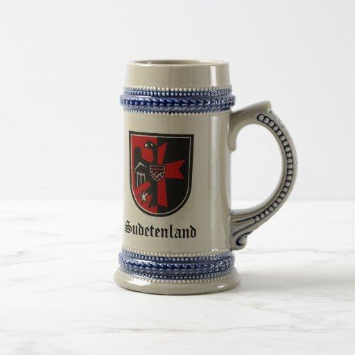 Sudetenland Stein Kaffee Tassen