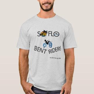 Südflorida verbogene Reiter T-Shirt