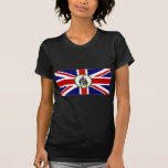 Südgeorgiasüdsandwich-Insel-Flagge Alt T Shirt