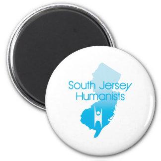 Südjersey-Humanisten Runder Magnet 5,7 Cm