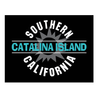 Südkalifornien - Catalina-Insel Postkarte