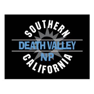 Südkalifornien - Nationalpark Death Valley Postkarte