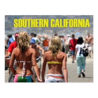 Südkalifornien-Postkarte Postkarte