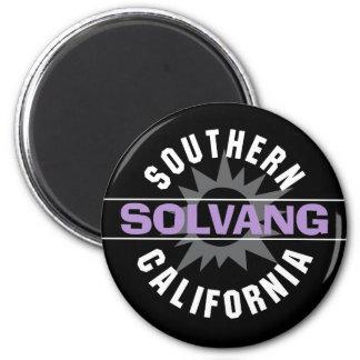 Südkalifornien - Solvang Runder Magnet 5,7 Cm