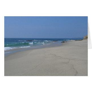 Südkalifornien-Strand Karte