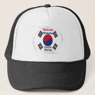 Südkorea-Farben Truckerkappe