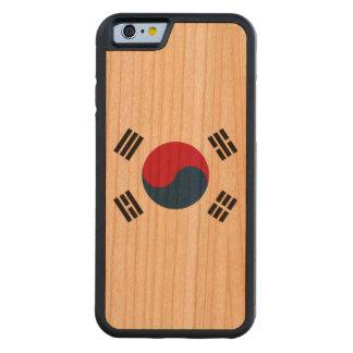 Südkorea-Flagge Bumper iPhone 6 Hülle Kirsche