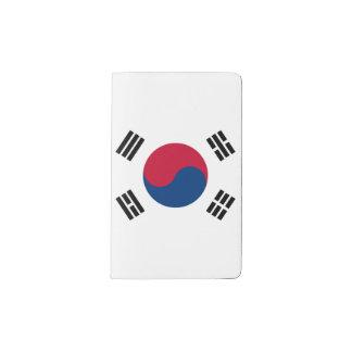Südkorea-Flagge Moleskine Taschennotizbuch