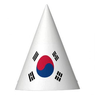 Südkorea-Flagge Partyhütchen