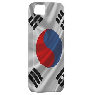 Südkorea-Flaggen-Gewebe iPhone 5 Schutzhülle