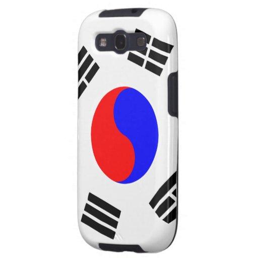 Südkorea-Flaggen-Samsung-Galaxie-Kasten Galaxy SIII Hülle
