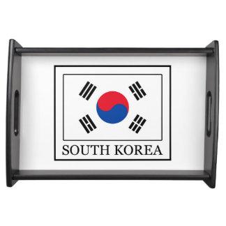 Südkorea Serviertablett