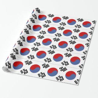 Südkoreanische Flagge Geschenkpapier
