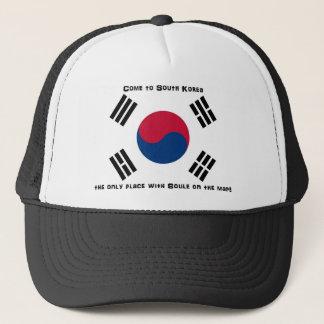 Südkoreanische Flagge Truckerkappe