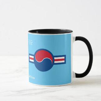 Südkoreanische Luftwaffe Roundel Kaffee-Tasse Tasse