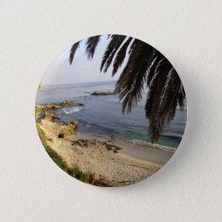 Südlaguna-Strand Runder Button 5,7 Cm