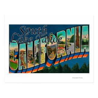 Südlake tahoe, Kalifornien Postkarte