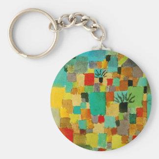 Südlich (tunesisch) arbeitet durch Paul Klee im Schlüsselanhänger